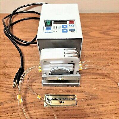 Ismatec Ism597d 100-240vac Digital 12-r Variable Speed 4-ch Peristaltic Pump