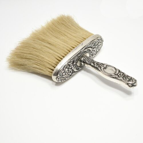 Antique WHITING Sterling Silver Hat Brush DRESDEN Pattern Victorian ca.1893