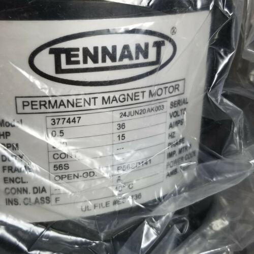 Tennant Floor Cleaner Permanent Magnet Motor 377447 Electric 36 VOLT DC