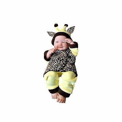 Preemie Halloween Costume (Unisex Baby Giraffe Halloween Clothing Costume - 3 Preemie and Newborn)