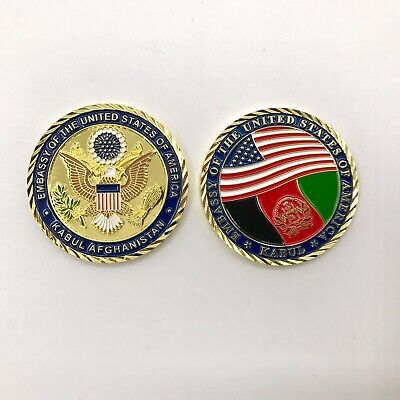 Embassy of the United States of America, Kabul, Afghanistan Challenge Coin!