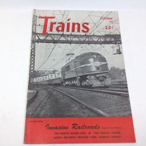 Vintage Trains Magazine October 1944