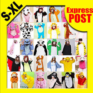 Unisex-Pajamas-Party-Cosplay-Kigurumi-Anime-Costumes-Animal-Onesie-Pyjamas-S-XL