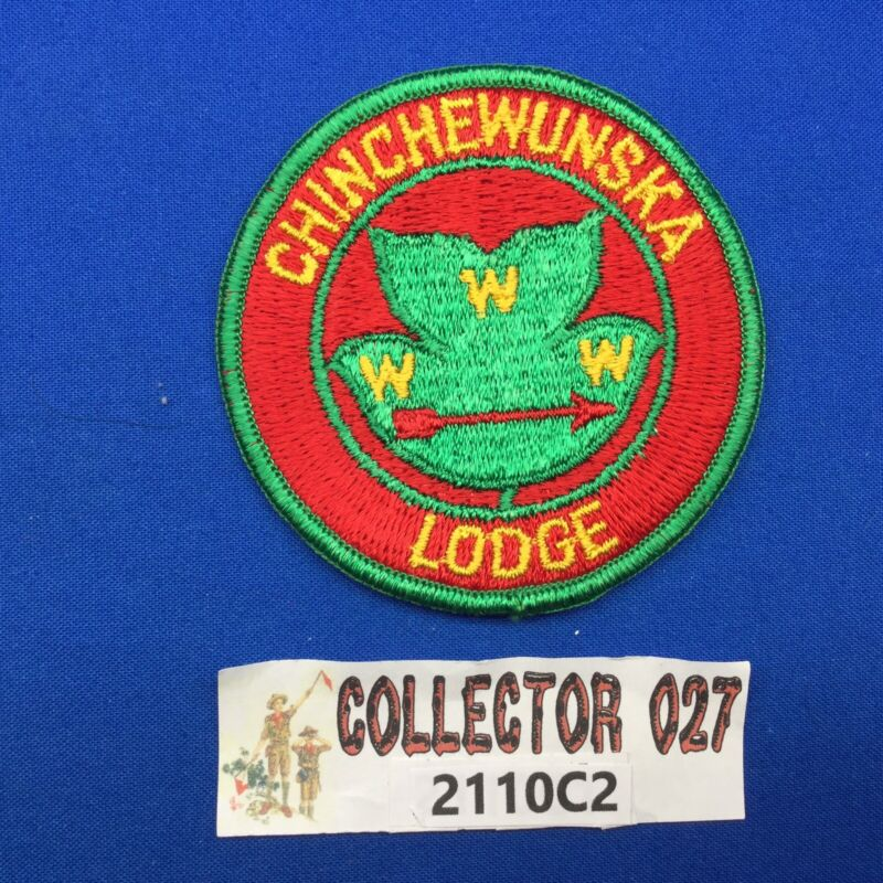 Boy Scout OA Chinchewunska Lodge 440 Round Solid Order Of The Arrow Patch