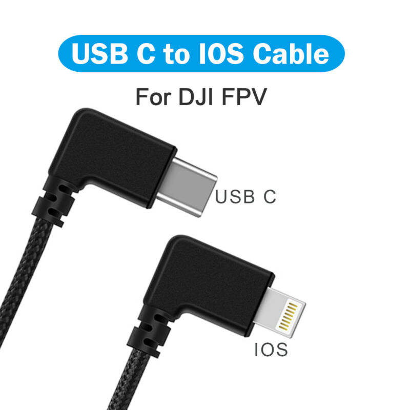 Cable Phone Tablet Adapter Cable Line for DJI FPV Flight Glasses V2 Accessories