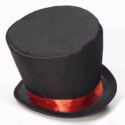 Mad Hatter Top Hat Alice Wonderland Queen of Hearts Unisex Mens Womens Adult NEW