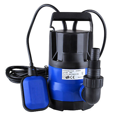 12hp 2100gph Submersible Water Pump Clean Clear Dirty Flood Pond Pool Drain