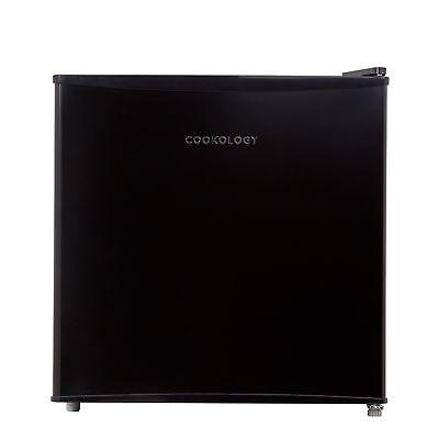 Cookology MFR45BK Black Table Top Mini Fridge & Ice Box   46L Bar Refrigerator