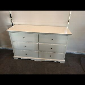 Chest of 6 large drawers tall boy