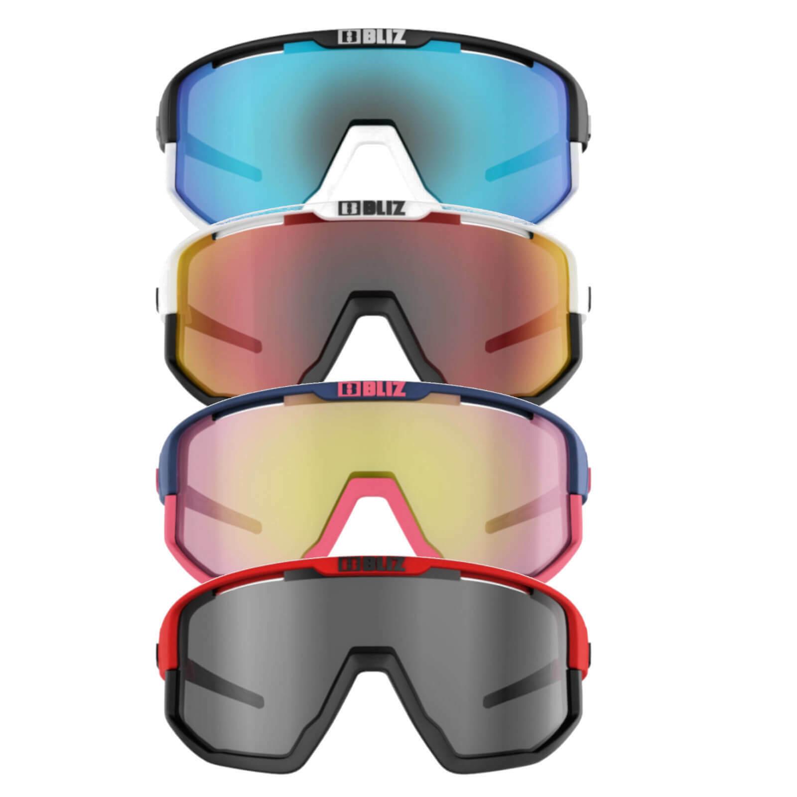 Bliz Unisex Sport-Sonnenbrille Sportbrille Fahrradbrille Fusion