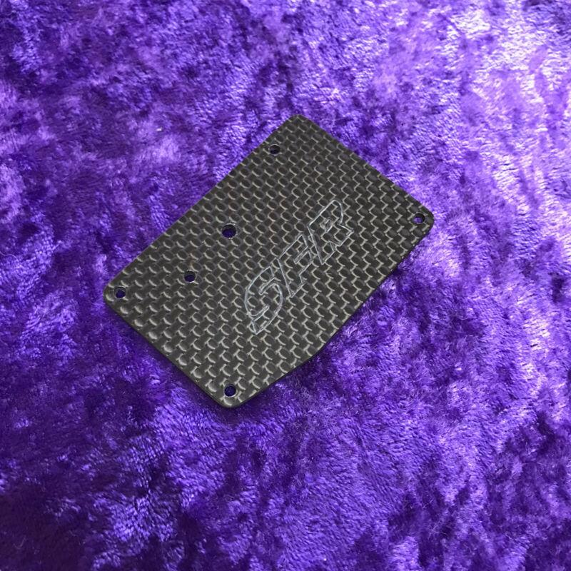 Arrma Felony, Infraction V2, Carbon Fiber Receiver Box Cover