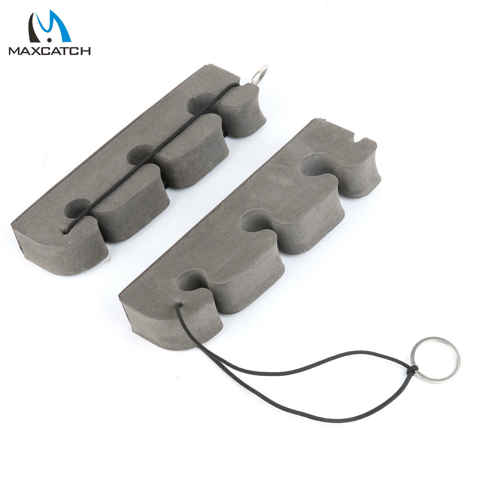 Details about Maxcatch 2 pcs Portable Fly Fishing Rod Rack Holder Rod Stand High Density Foam