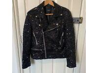 Mens Vintage 60s Style Burgundy Velvet Hendrix Lennon Retro Mod Jacket S M L XL