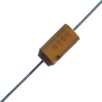 12pcs Kemet Tantalum Capacitor 4.7uf 35v Axial T322 10