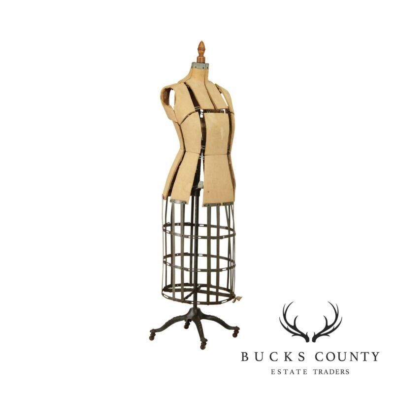 Ufford Boston Antique Cast Iron Base Dress Form
