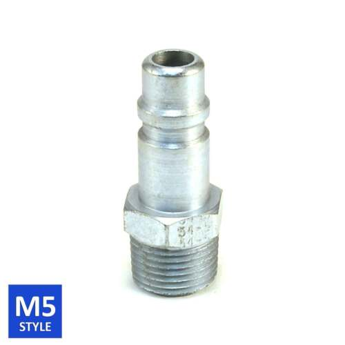 Foster 5 Series Quick Coupler Plug 1/2 Body 1/2 NPT Air and Water Hose Fittings