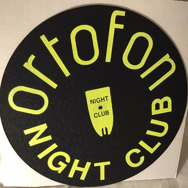 ORTOFON  - NIGHT CLUB VINYL Records Turntable Slipmat
