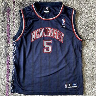 Reebok NBA New Jersey Nets Jason Kidd Basketball Jersey Youth Large