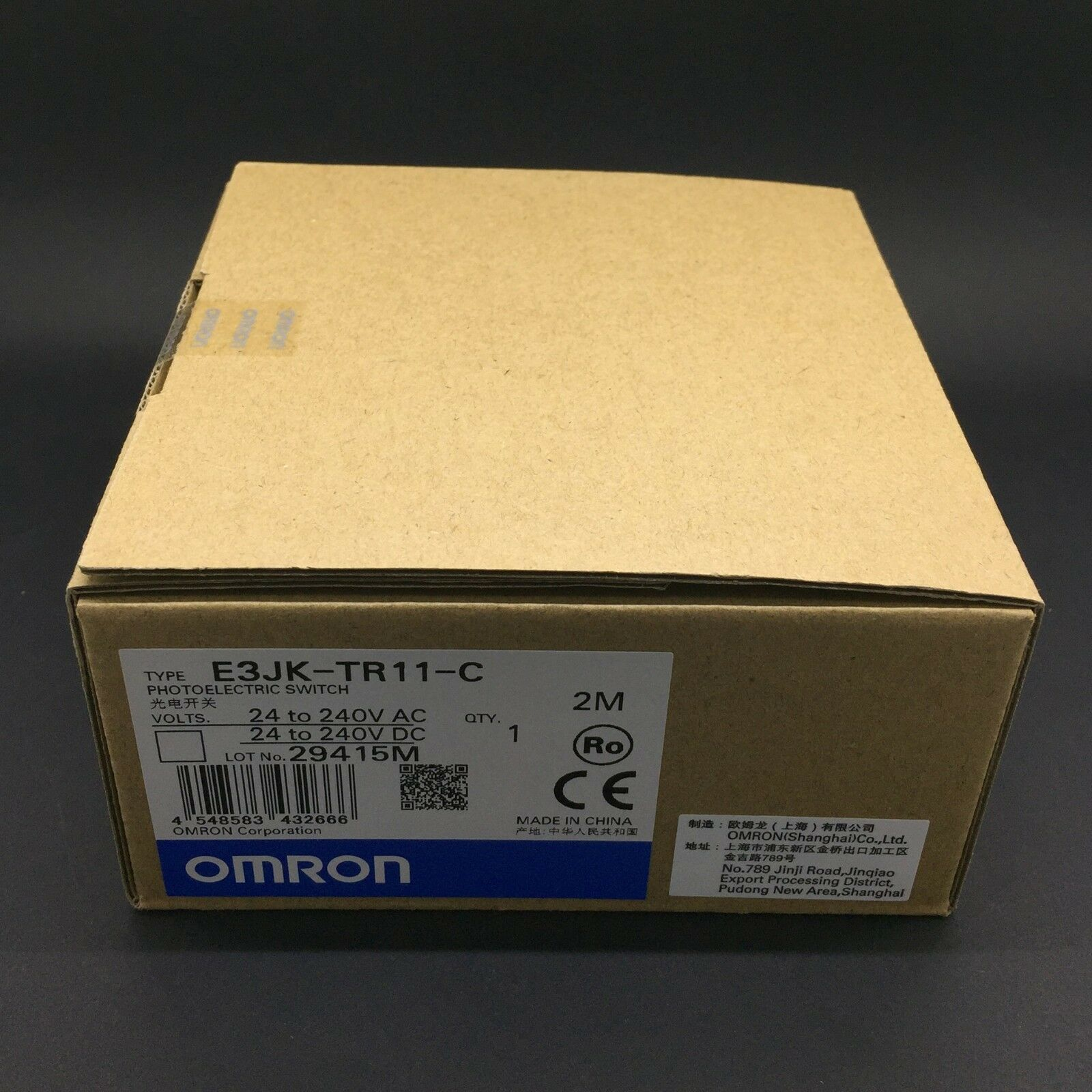 1pcs New Omron Brand New E3JK-R2M1 24-240VAC Photoelectric Switch In Box
