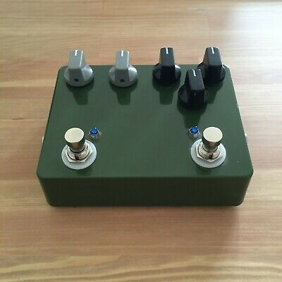 Chicago Stompworks Rat LM308 + DOD OD 250 Clone Double Pedal