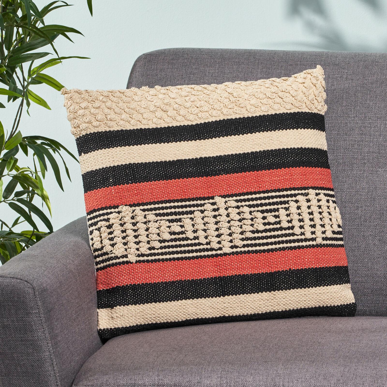 Salome Boho Cotton Pillow Cover Home & Garden