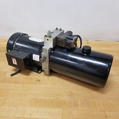 Emerson P63flm-4213 1hp 1725rpm Haldex Hydraulic System. - Used