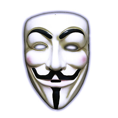 NEW ADULTS ANONYMOUS V FACE SCARY MASK VENDETTA GUY FANCY DRESS HALLOWEEN FUN (Scary Halloween Cat Faces)