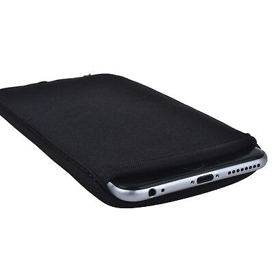 - BLACK Slim Neoprene Sleeve Pouch Bag Case Carry Cover for iPhone X 8 7 6S 6 Plus