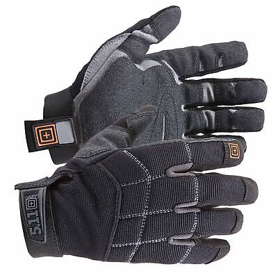 5.11 Tactical Hunting Station Grip Gloves Nylon Leather Black Style 59351, S-2XL