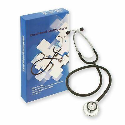 Pro Double Dual Head Stethoscope Doctor Nurse Medical Healthcare