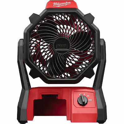 Milwaukee M18 Cordless Jobsite Fan 3-speed REDLITHIUM 0886-20 - Tool Only
