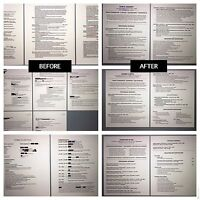 Professional Resume Writing and Editing Service - Best Available