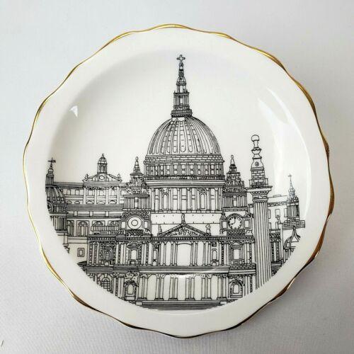 London St Pauls Cathedral Mini Decorative Plate Fine China Royal Crown Dutchy
