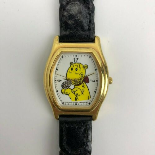 Vintage 1994 Popeye Watch - Eugene the Jeep - King Features Syndicate