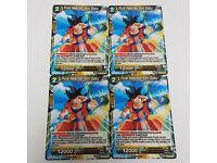 Pure Hearted Son Goku Promo Card X4 P-061 SDCC 2018