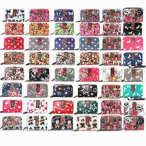 New-Designer-Oilcloth-Vintage-OWL-Floral-Polka-Dot-Butterfly-Star-Purse