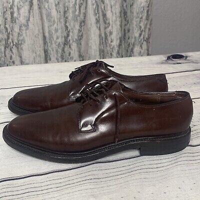 LLoyd & Haig Custom Built Mens 10.5 Built Leather Oxford Dress Shoe