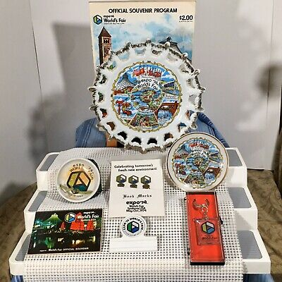 1974 Expo Worlds Fair Spokane, Washington Memorabilia Lot 15 + Items Many New
