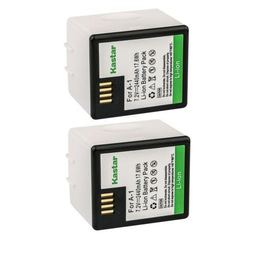 Kastar 2x A-1 Battery For OEM ARLO PRO, PRO 2 VMA4400 Netgear, VMC4030, VMS4230