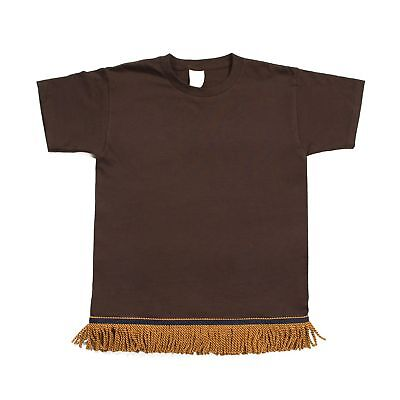 Chocolate Brown T-shirt (Starting at $12.99 Chocolate Brown Fringed Tshirt)