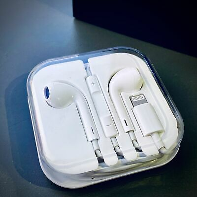 Apple iPhone Lightning Earphones With Mic Bluetooth headphones iPhone 7 8 Pop-Up