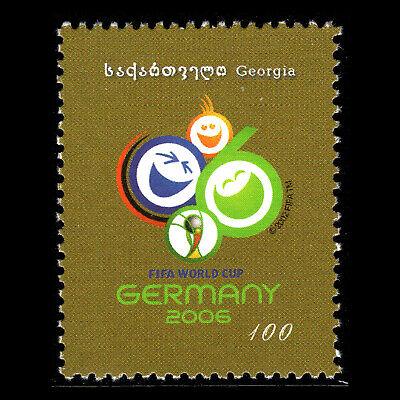 Georgia 2005 - Football World Cup - Germany 2006 Soccer - Sc 369 MNH