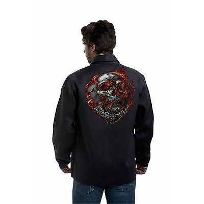 Tillman 9062 Weld or Die Black Onyx Welding Jacket - XL