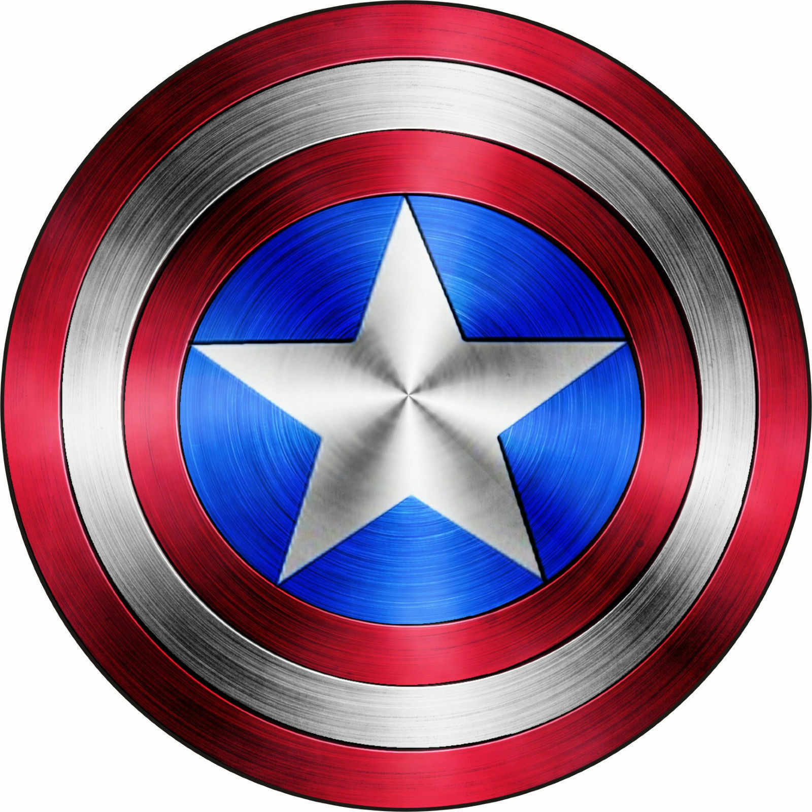Home Decoration - Captain America Shield Logo Comic Superhero Vinyl Decal Sticker Buy2Get3rdFree