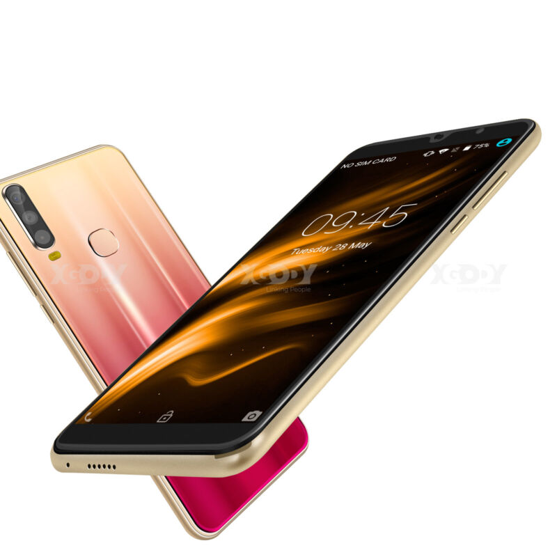 """Android Phone - 6.0"""" A70 Android 8.1 Unlocked Cell Phone Quad Core 2 SIM 3G Smartphone Phablet"""
