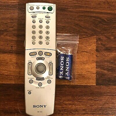 Brand New Factory Original Sony RM-YD059 TV Remote Control with Fresh Batteries