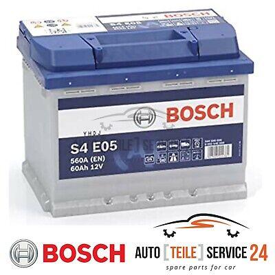 1 Starterbatterie BOSCH 0092S4E051 S4E für ALFA ROMEO AUDI CITROËN FIAT FORD VW