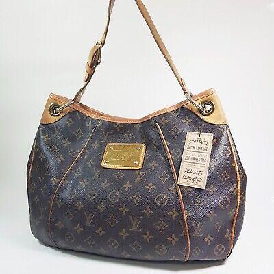 Authentic Louis Vuitton Galliera PM Monogram M56382 Edge Leather Repair ALA365