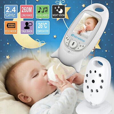 "2.4Ghz Wireless Baby Video Monitor Safe Two-way Talk 2"" Digital LCD Screen"