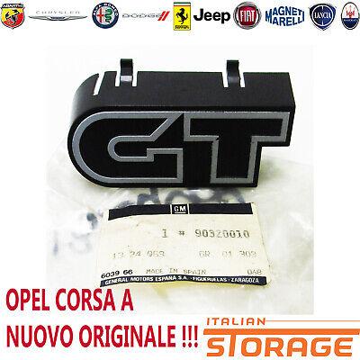 OPEL Corsa A Gt Logo Friso Panel Delantero Nuevo Original 1324069 90320010